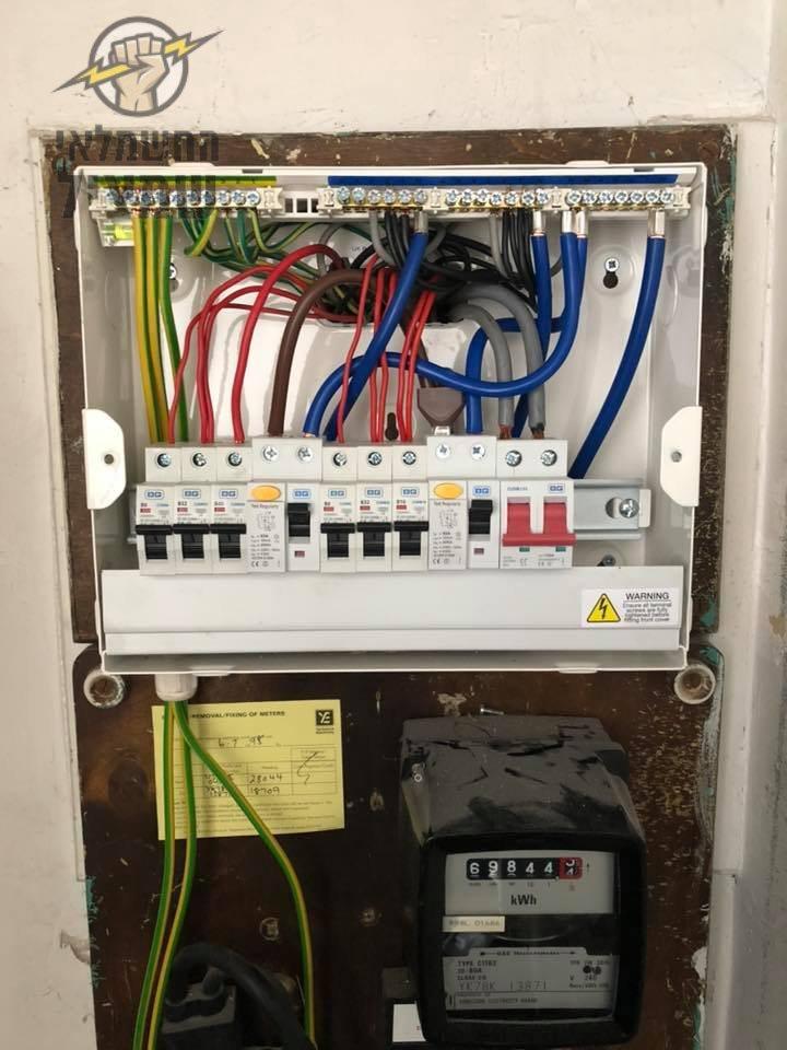 בדיקת חשמל מסודרת בלוח ובשקעים בבית