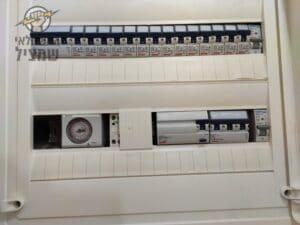 הגדלת חשמל לתלת פאזי בבית בשכונת יוספטל בחדרה על ידי חשמלאי מקצועי עם רישיון
