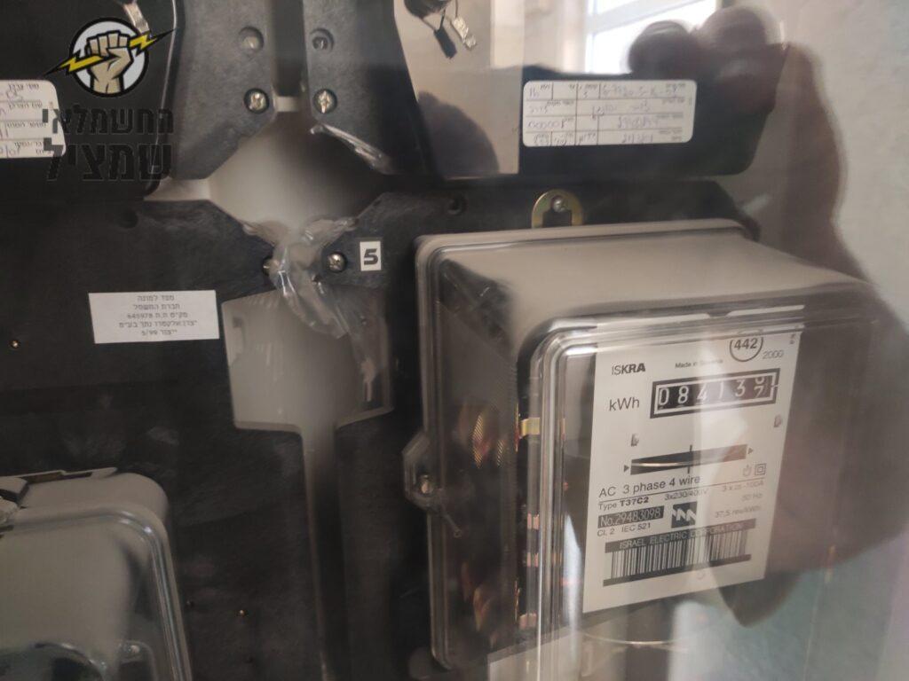 חיבור מונה חשמל מחדש אחרי ניתוק לדירה בזמן שיפוץ ובניה