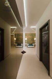 תכנון תאורה בסגנונות שונים בוילה גדולה