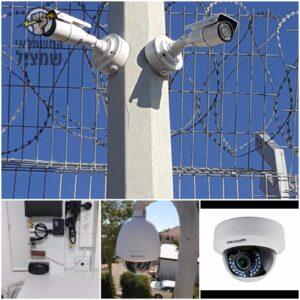 התקנת מצלמות אבטחה באופן מקצועי ובטיחותי לכל מטרה. צילום: שי מערכות