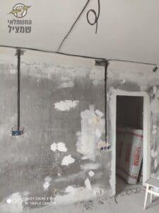 הקמת נקודות חדשות בדירה באזור בזמן שיפוץ