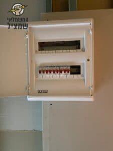 החלפת לוח חשמל ביחידת דיור בהוד השרון